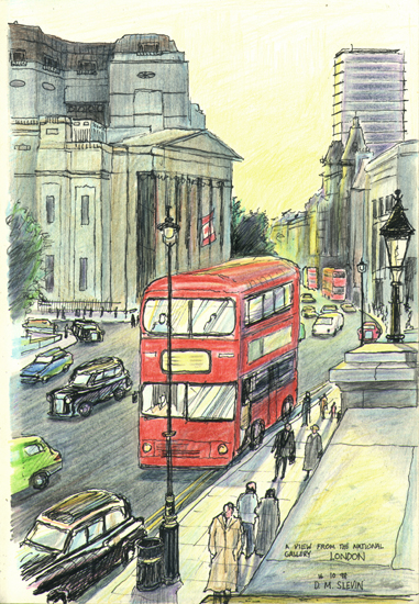London Bus - Click to Return to Gallery
