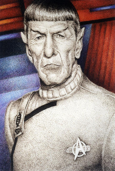 Dr. Spock - Click to Return to Gallery