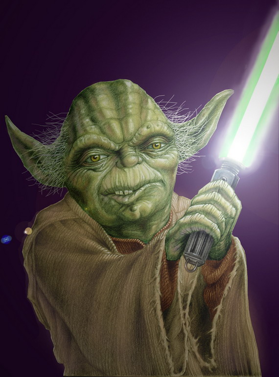 Yoda - Click to Return to Gallery
